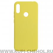 Чехол-накладка Huawei Y6 2019 7003 желтый