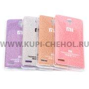 Чехол силиконовый Xiaomi Redmi Note 027687 розовый