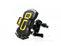 Автодержатель в воздуховод Remax RM-C14 Black/Yellow