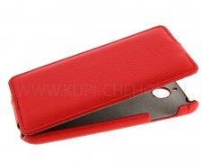 Чехол  откид  HTC Des 510 Dual  UpCase  красн