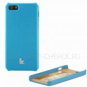 Чехол-накладка Apple iPhone 5/5S/SE JisonCase синий