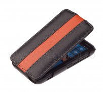 Чехол  флип  Nokia  620  UpCase  чёрн - оран
