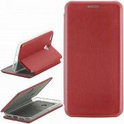 Чехол книжка Xiaomi Redmi 4X Fashion Case с визитницей красный