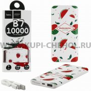 Power Bank 10000 mAh Hoco B7 Fruit - style Watermelon.