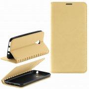Чехол книжка Meizu M2 mini Book Case New золотой Вид1