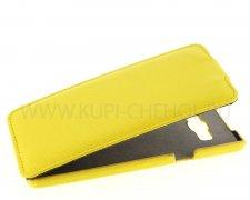 Чехол флип Samsung A700F Galaxy A7 UpCase жёлтый