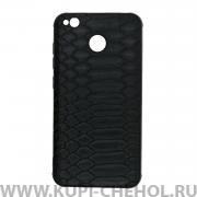 Чехол-накладка Xiaomi Redmi 4X 27035 Рептилия черный
