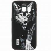 Чехол силиконовый Samsung Galaxy S6 Edge G925 Luxo 43119 фосфор