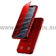 Чехол книжка Apple iPhone X Baseus Touchable Red