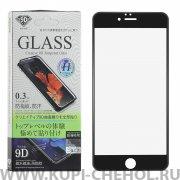 Защитное стекло Apple iPhone 6 Plus/6S Plus WK Black panther 4D Black 0.3mm