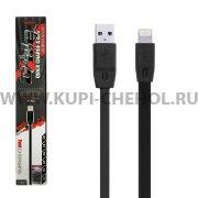 USB Apple iPhone 5 Remax RC-001i Black 2m