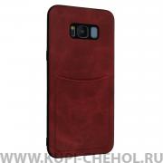 Чехол-накладка Samsung Galaxy S8 Plus Ilevel красный
