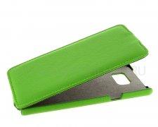 Чехол флип Samsung Galaxy Note 5 UpCase зелёный