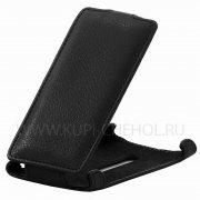 Чехол  откид  Nokia  800  Derbi  чёрный