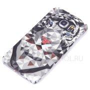 Чехол пластиковый Samsung Galaxy S6 Edge G925 Fashion 8766 фосфор
