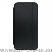 Чехол книжка Apple iPhone X Open Color New черный