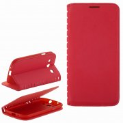 Чехол книжка Samsung Galaxy S3 i9300 Book Case New красный