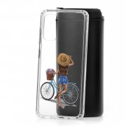 Чехол-накладка Samsung Galaxy S20 Kruche Print Велосипедная прогулка