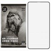 Защитное стекло Apple iPhone X WK Kingkong4 Black 0.25mm
