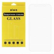 Защитное стекло Apple iPhone X Aiwo Full Screen белое матовое 0.33mm