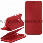 Чехол книжка Xiaomi Redmi Note 2 П19025 красный