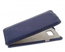 Чехол флип Samsung Galaxy Note 5 UpCase синий