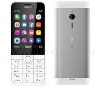 Телефон Nokia 230 DS Silver