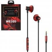 Наушники WK WE380 Red