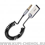 Автомобильный Bluetooth ресивер 3.5 мм Baseus BA01 CABA01-01 Black