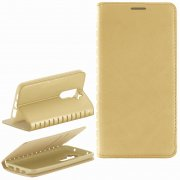 Чехол книжка LG D802 Optimus G2 Book Case New золотой