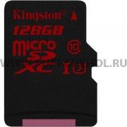 Micro SD 128Gb class 10 к/п Kingston UHS-I