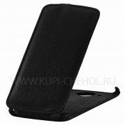 Чехол флип Lenovo S920 Gecko чёрный