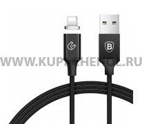 USB Apple iPhone 5 Baseus Magnetic CALNP-01 Black 1.2м