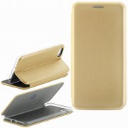 Чехол книжка Apple iPhone 7 Plus Book Case New 3D золотой