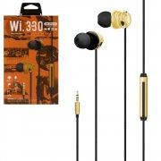 Наушники WK Wi330 Gold