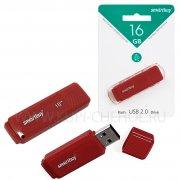 Флеш Smartbuy Dock 16Gb Red USB 2.0