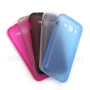 Чехол-накладка Samsung Galaxy Ace 3 S7270 ультратонкий 6812 синий