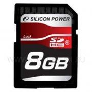 SD 8Gb class 6 к/п Silicon