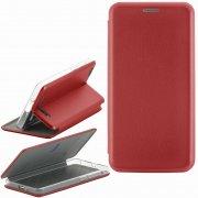 Чехол книжка Xiaomi Redmi 4A Fashion Case с визитницей красный