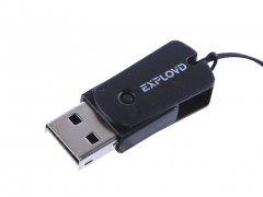 Картридер для Micro SD Exployd Black