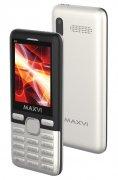 Телефон Maxvi M6 Silver