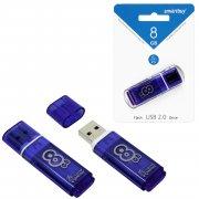 Флеш SmartBuy Glossy 8GB Dark Blue USB 3.0