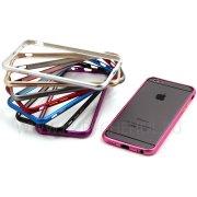 Чехол-бампер Apple iPhone 6 4.7 металл Fashion серебряный 8067