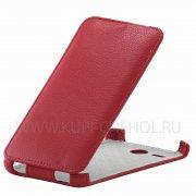 Чехол флип Lenovo A529 Angell Case красный