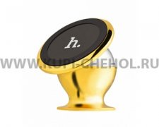Автодержатель магнитный Hoco CA6 All-metal Magnetic Gold
