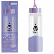 Стеклянная бутылка WK WT-CUP02 300ml Purple