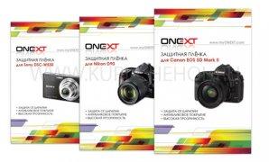 Плёнка на дисплей Nikon D90 ONEXT матовая