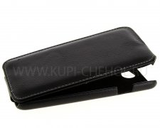 Чехол  откид  HTC Des 516 Dual  UpCase  черн