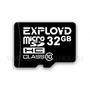 Micro SD 32Gb Class 10 к/п Exployd