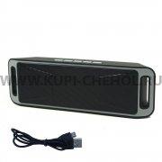 Колонка универсальная Bluetooth Megabass A2DP Grey
